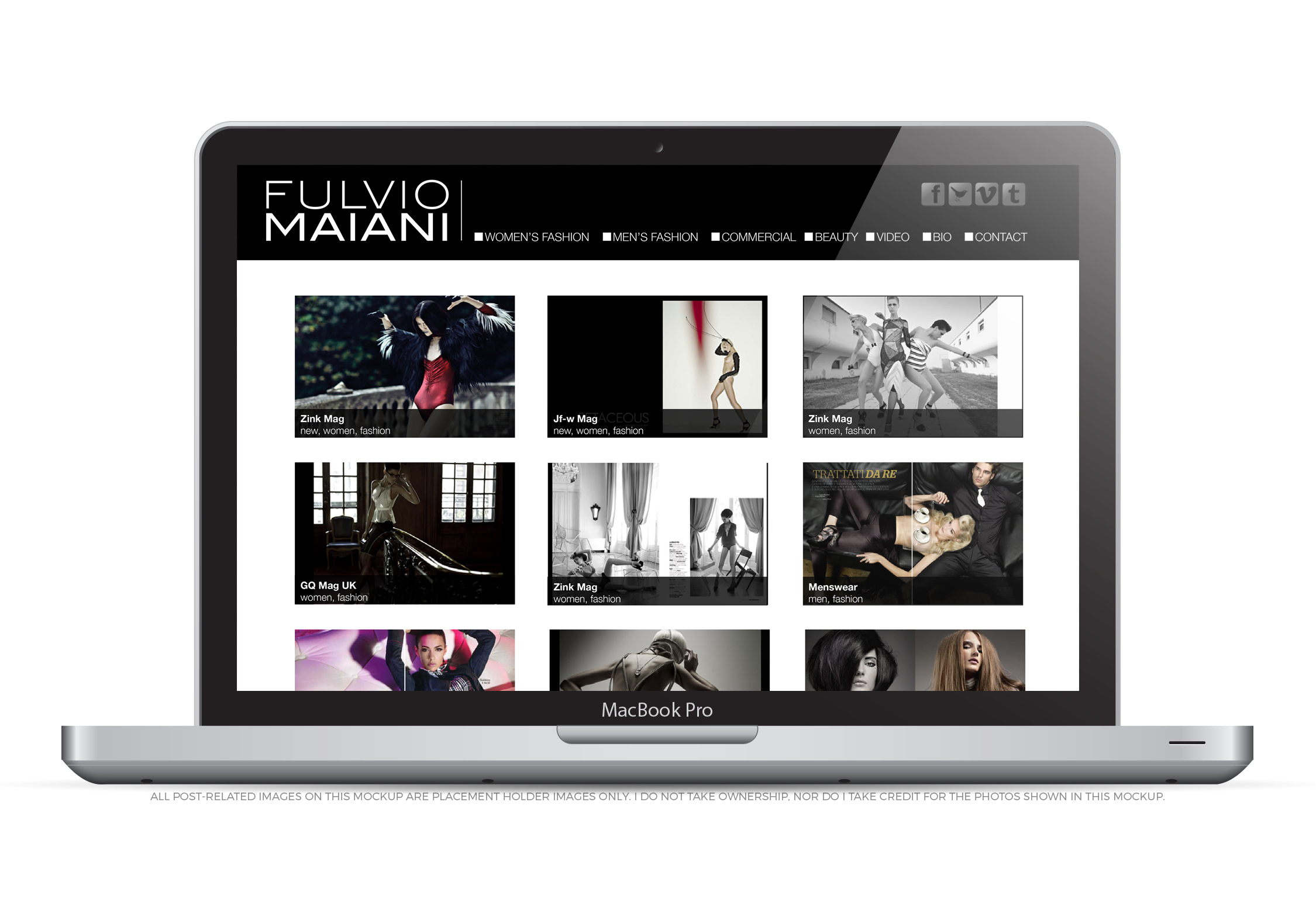 Fulvio Maiani Website