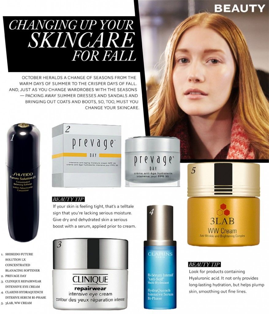 Changing Your Skincare