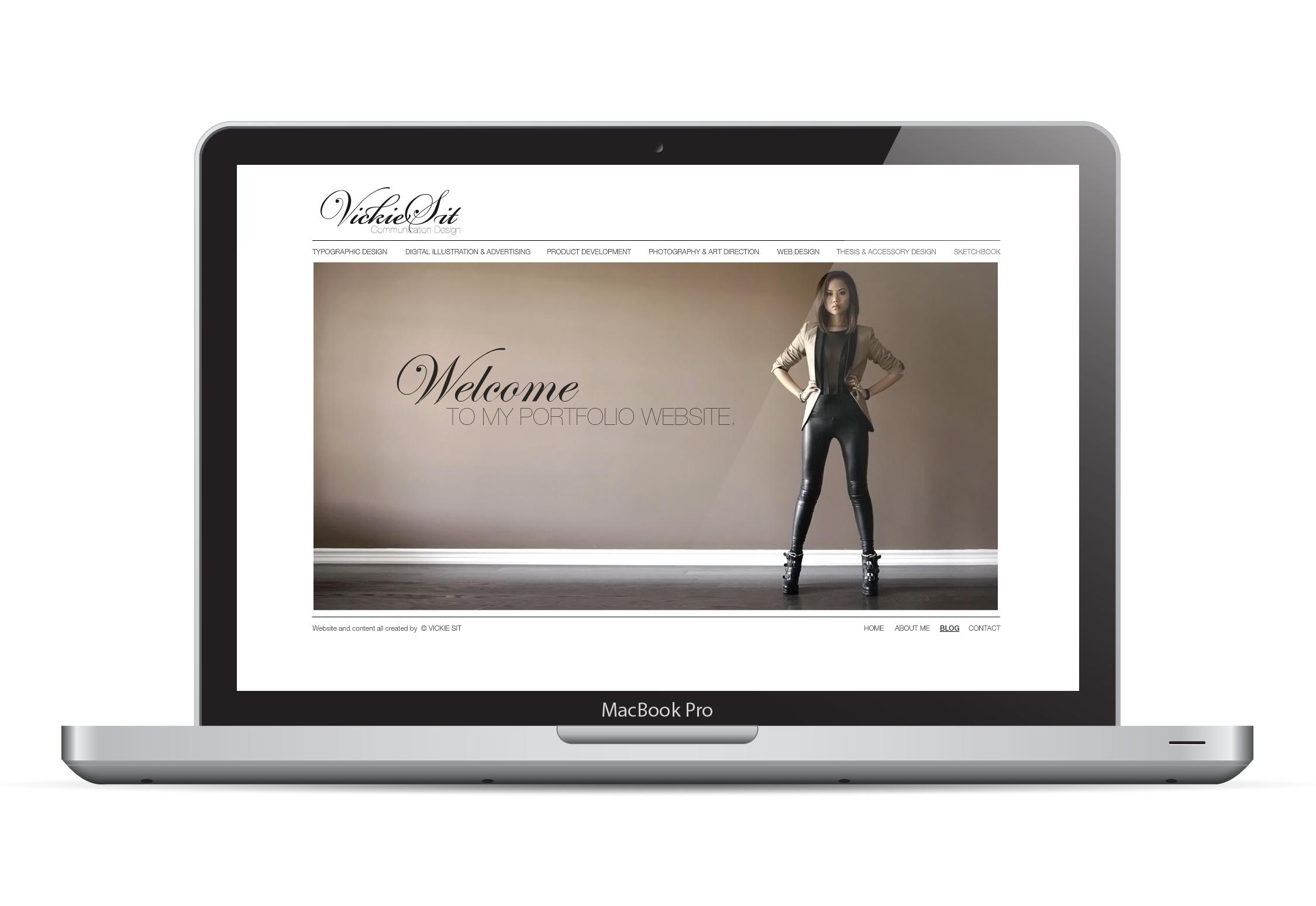 Portfolio Website 2010/2011