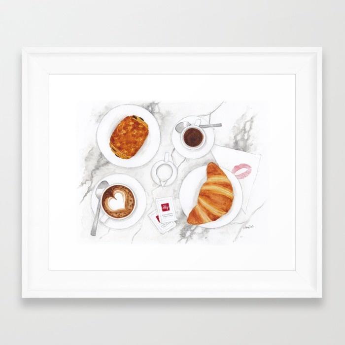 la-colazione-dei-campioni-framed-prints