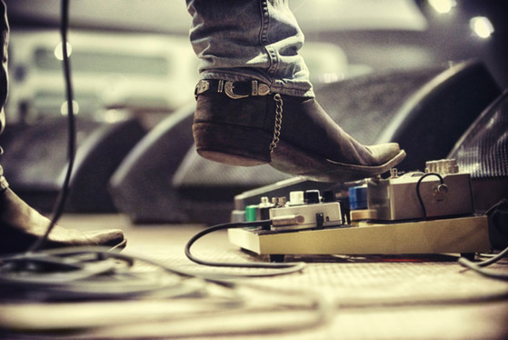Gitarren-Pedal