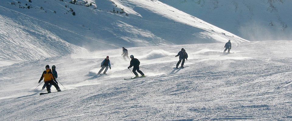 Skiing on Mount Hermon