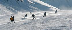 Skiing on Mount Hermon