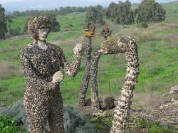 מי מכיר את גן הפסלים בכפר סאלד