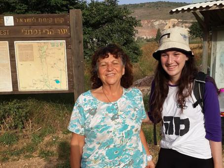 האב ובתו לבית הורדן - טיול מיוחד בשביל ישראל