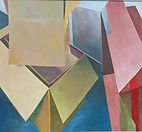 Boxes, oil on canvas, 44 x48, inches,1987.jpg