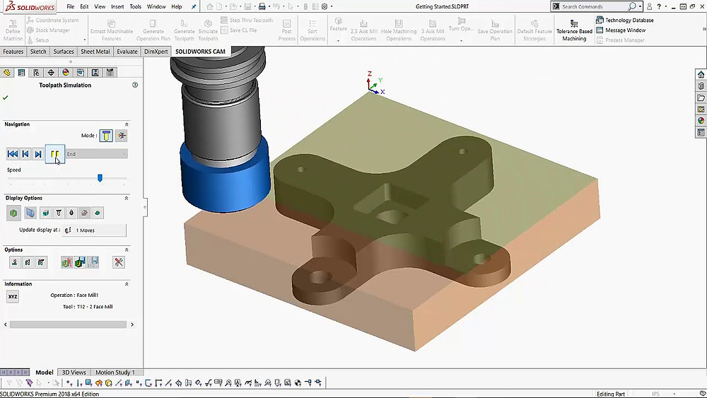 CNC CAM software CAD 3D