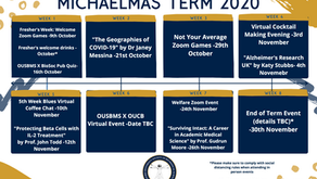 Michaelmas Termcard 2020