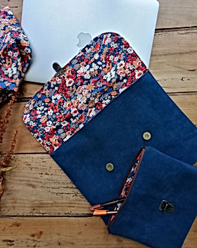 pochette simili et Liberty