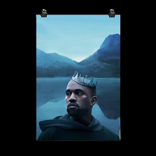 'Lonely Kanye' Art Prints