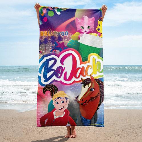 'BoJack Frank' Beach Towel