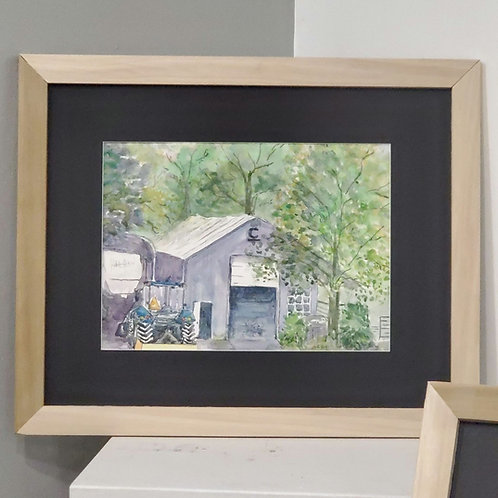 """""""Dad's Shop"""" by Chandler Hiatt"""