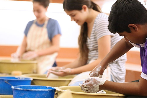 Pottery and Ceramic Jewelry Class