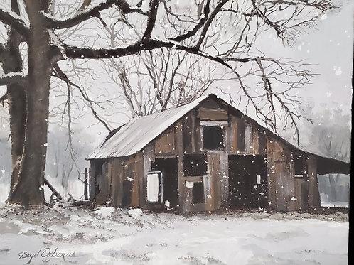 Snow Barn (Boyd Osborne)