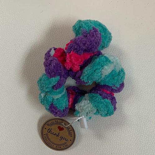 Scrunchies Multi Colore de bleu