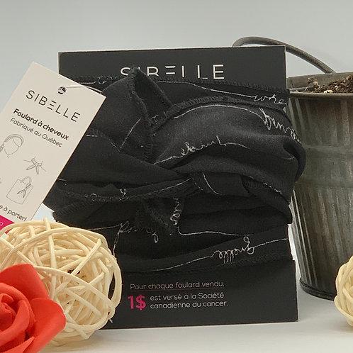 Bandeau de Sibelle noir
