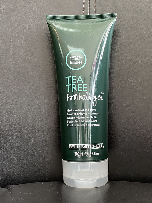 Tea Tree firm hold gel Tenue et brillance maximum