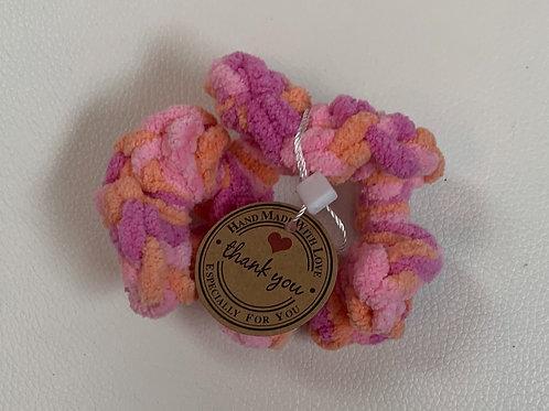 Scrunchies Multi Rose