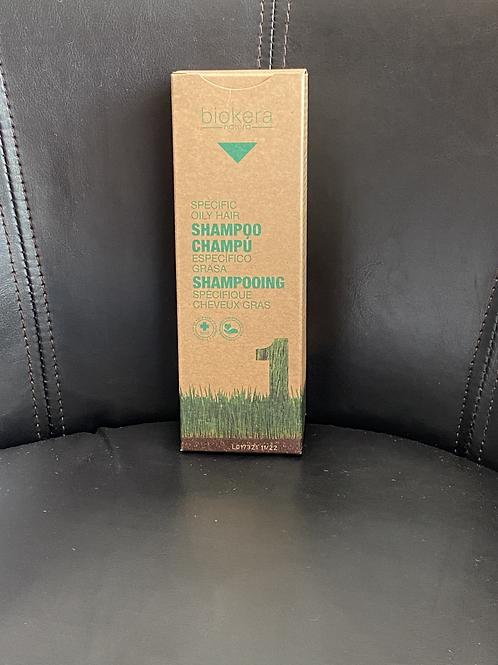 Biokera Shampooing spécifique cheveux gras