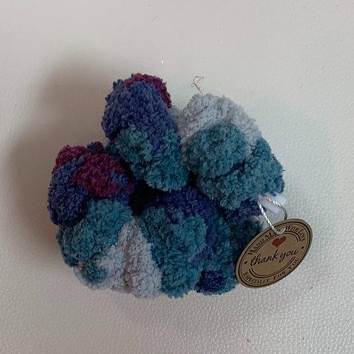 Scrunchies Multi bleu