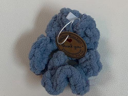 Scrunchies Bleu