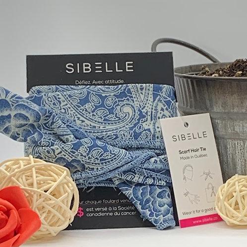 Bandeau de Sibelle bleu