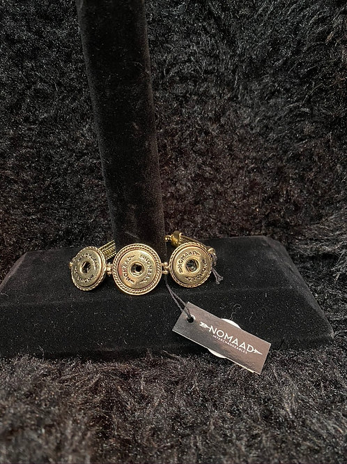 Bracelet en Or triple snap button