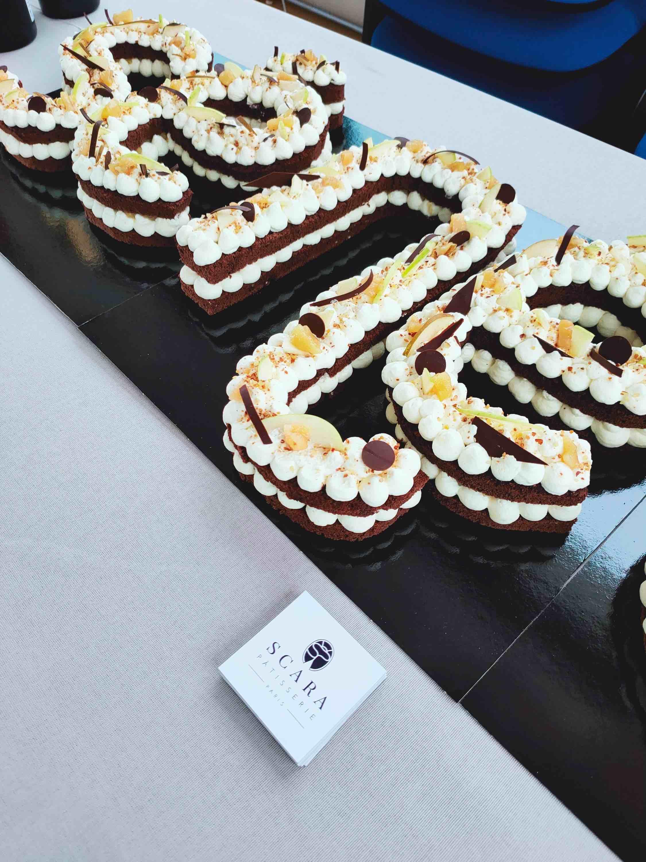 Letter Cake SENEO