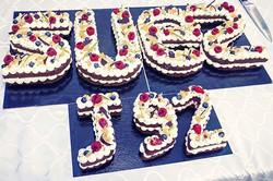 Letter Cake SUEZ