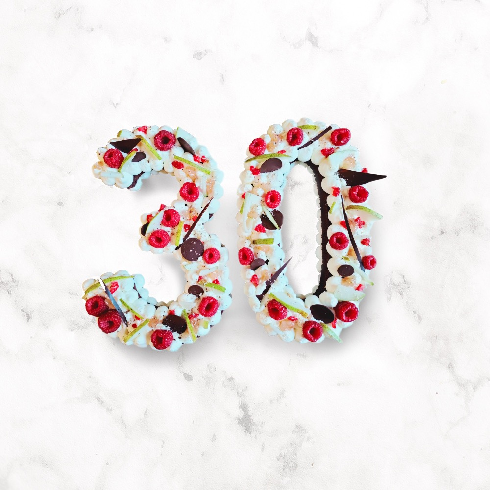 Number Cake 30