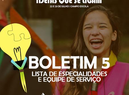 CAMPOTEC | Boletim 5
