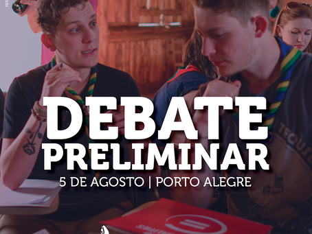 Debate Preliminar do Ramo Pioneiro