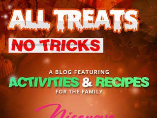 All Treats, No Tricks  |  A Collection of Harvest/Halloween Activities & Recipes
