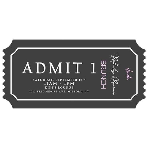 Birthday/Anniversary Brunch Ticket