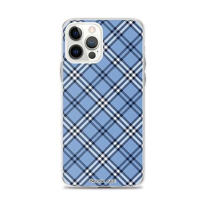 Brook Gee iPhone Case - Blue Plaid