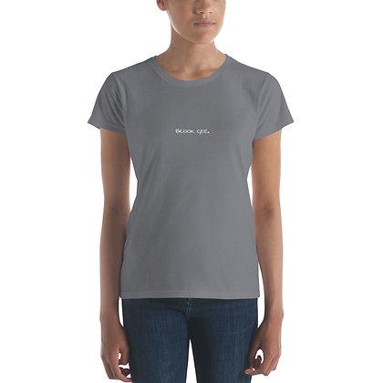 Women's Fashion Fit T-Shirt - Storm Grey