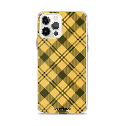 Brook Gee iPhone Case - Yellow Plaid