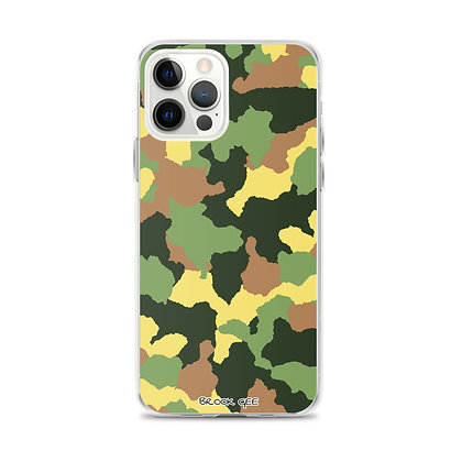 Brook Gee iPhone Case - Camouflage