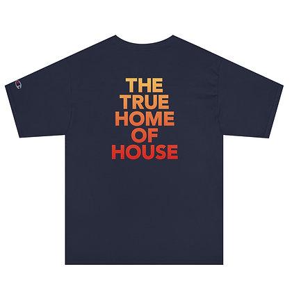 Men's Champion T-Shirt - Navy Sunset