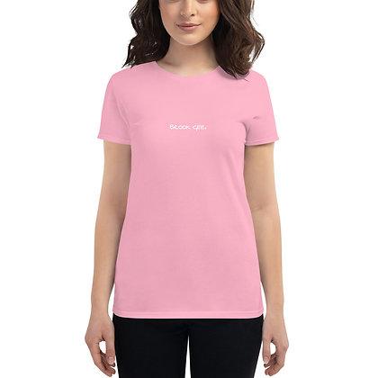 Women's Fashion Fit T-Shirt - Pink