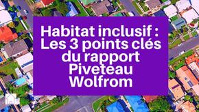 Les trois points clés du rapport Piveteau Wolfrom sur l'habitat inclusif
