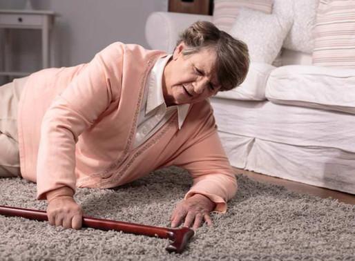 La chute est la première cause de décès accidentel chez les seniors de plus de 65 ans