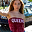Thumbnail: Bleach Tie Dye Maroon Bandana Top | Queen's University