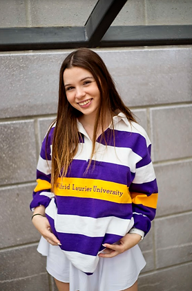 Laurier   Striped Rugby Sweater - Small   Shop Lightly-Vintage