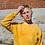 Thumbnail: Tie Dye Yellow Crewneck | Queen's University