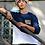 Thumbnail: Colour block Navy & White Long Sleeve | Queen's University