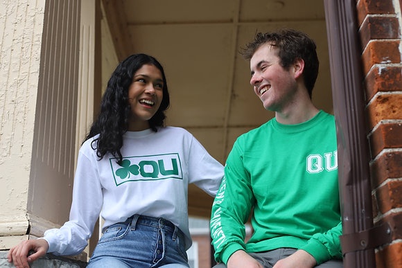 Classic Queen's University | Long Sleeve | St. Patties Greens