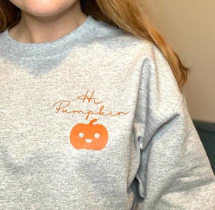 Hi Pumpkin