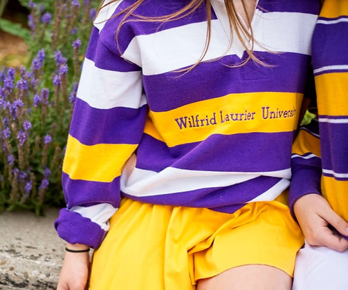 Laurier | Striped Rugby Sweater - L  |  Shop Lightly-Vintage