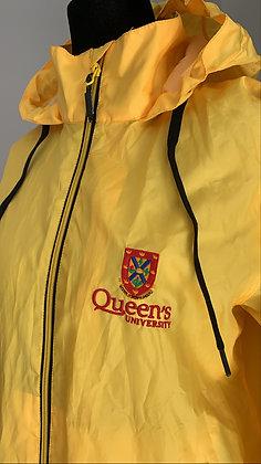 Queens University Rain Jacket   Yellow - S   Shop Lightly Vintage